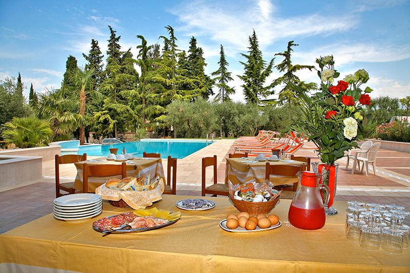 Hotel mit Frühstücksbuffet in Bardolino