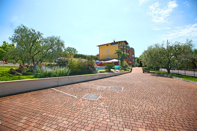 Hotel mit kostenlosen Parkplätzen Bardolino